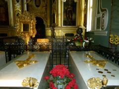 cathedrale pierre et paul tombeaux des tsars