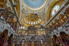 38407065 la pintura en la cu pula de la catedral naval de san nicola s en kronstadt cerca de san petersburgo rusia pi