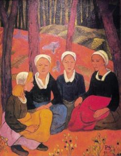 4 bretonnes. Sérusier