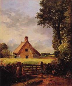 A cottage in a cornfield 1817 john constable
