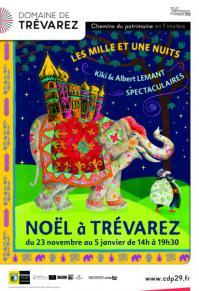 Affiche noel a trevarez 2019 les mille et une nuits sandrine granon 412x600 1