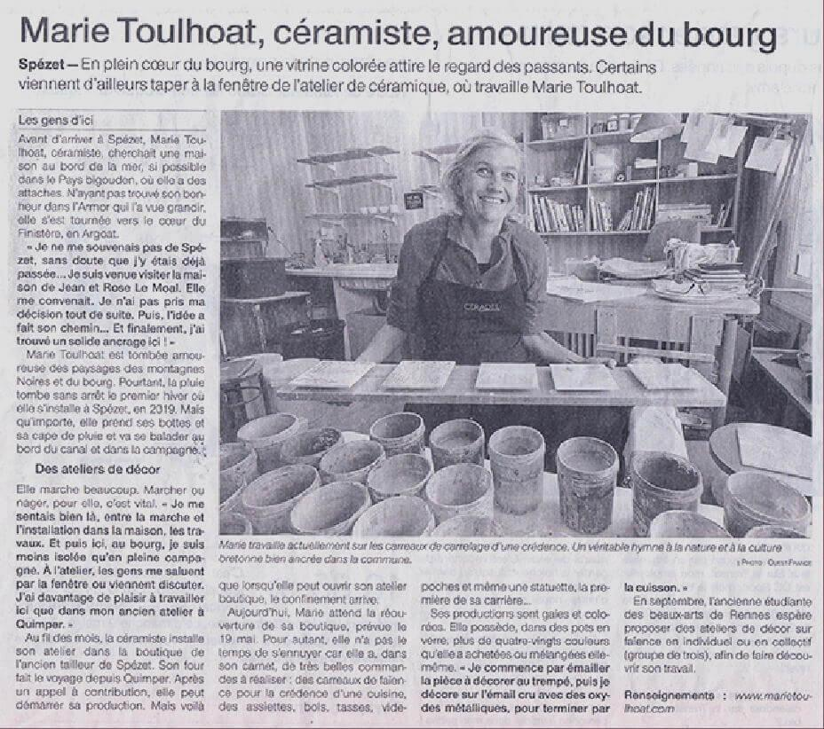 Article marie toulhoat