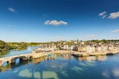 Auray vue sur le port alexandre lamoureux