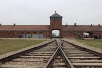 Arrivée sur le camp d'Auschwitz