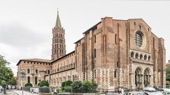 Basilique saint sernin de toulouse exposition ouest 1