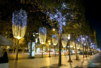 Blachere illumination champs elysees paris 2014 scintillance
