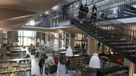 Brest une boulangerie paul la mediatheque des capucins