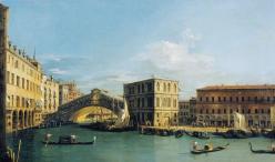 Canaletto rialto bridge from the north rcin 400668