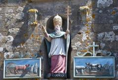 Carnac eglise st cornely niche 1