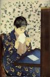 Cassatt mary the letter 1891