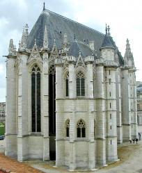 Cha teau de vincennes sainte chapelle abside 1