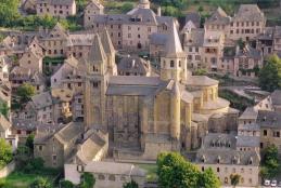 Conques l abbaye 1
