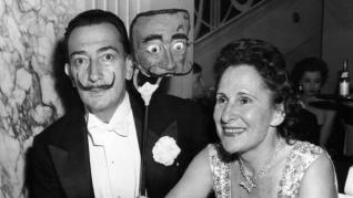 Dali and gala in new york in 1952