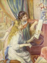 Deux jeunes filles au piano de pierre auguste renoir 1