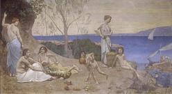 Doux pays puvis de chavannes 1882