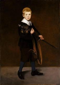 E douard manet l enfant a l e pe e 1861