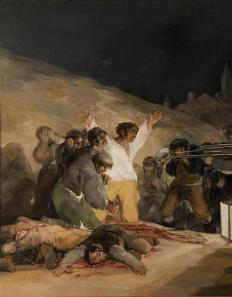 El tres de mayo by francisco de goya