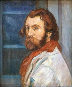 Emile bernard autoportrait lille