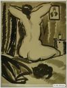 Pierre de belay Femme au chat  1938