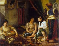Femmes d alger dans leurs appartements delacroix 1834