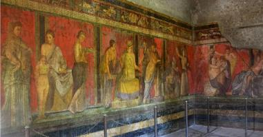 Fresque villa des mysteres