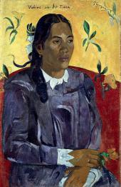 Gauguin donna fiore