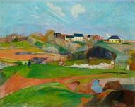 Gauguin les champs au pouldu