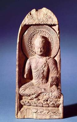 Images musee guimet collections asie centrale buddha meditation