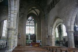 Interieur de la chapelle du kreisker