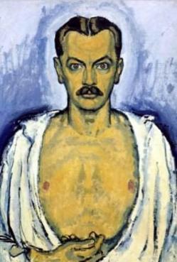 K moser autoportrait