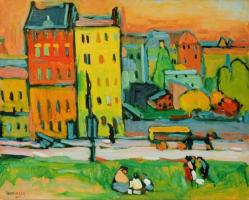 Kandinsky maisons a munich