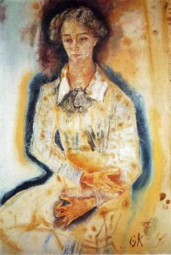 Kokoschka madame lotte franzos 1909