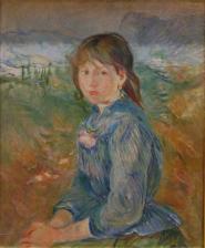La petite nic oise 1889 berthe morisot
