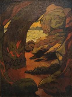 Lacombe grotte a camaret sans cadre