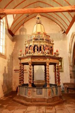 Lampaul guimiliau le baptiste re