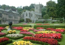 Lanhydrock jardins