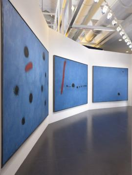 Les 3 bleus miro pompidou metz 2010
