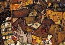 Maisons en arc a krumau 1915
