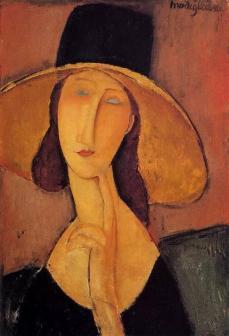 Modigliani amedeo jeanne hebuterne