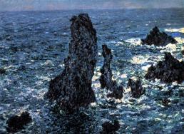 Monet 1886 port coton