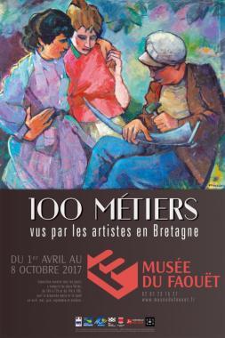 Musee du faouet 100 metiers vus par les artistes en bretagne nuit des musees 2017