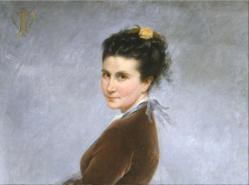 Ne lie jacquemart autoportrait