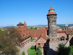 Nuernberg kaiserburg