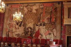 Palais du parlement de bretagne grand chambre tapisserie