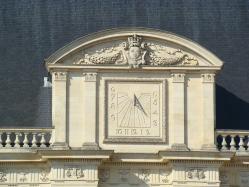 Parlement de bretagne detail cadran solaire