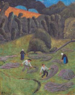 Paul serusier les foins chateauneuf du faou 1920 photo bernard galeron 10790 10790