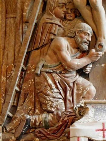 Plume liau 56 chapelle saint nicode me retable de la descente de croix 18 1
