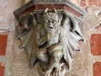 Pologne forteresse malbork sculpture pierre