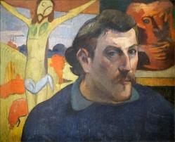 Portrait de l artiste au christ jaune de p gauguin grand palais paris 26391788479 1