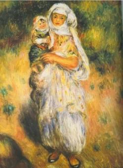 Renoir l alge rienne a l enfant 1882